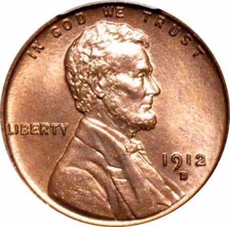 Picture for category Lincoln Cent (Wheat Reverse) (1909-1958)