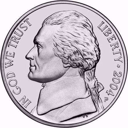 Picture for category Jefferson Nickel (1938 to Date)