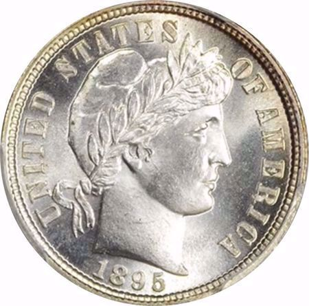 Picture for category Barber Dime (1892-1916)