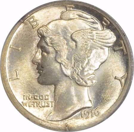 Picture for category Mercury Dime (1916-1945)