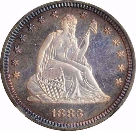 Picture for category Liberty Seated Quarter (1838-1891)