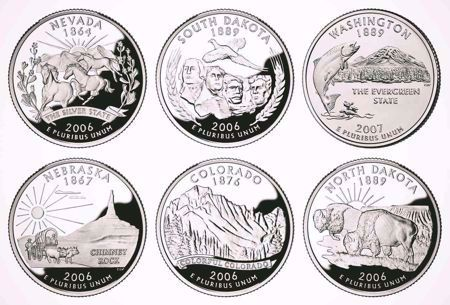 Picture for category Washington 50 States Quarters (1999-2008)