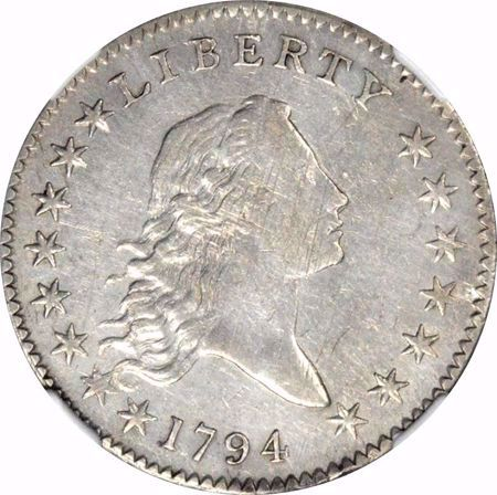 Picture for category Flowing Hair Half Dollar (1794-1795)
