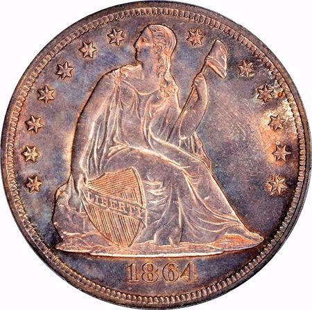 Picture for category Liberty Seated Dollar (1836-1873)