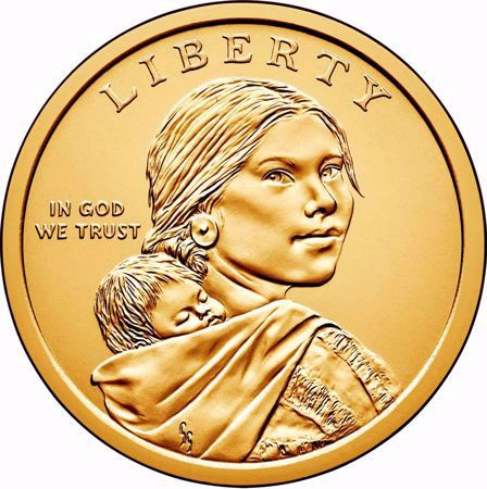 Picture for category Sacagawea Dollar (2000 to Date)