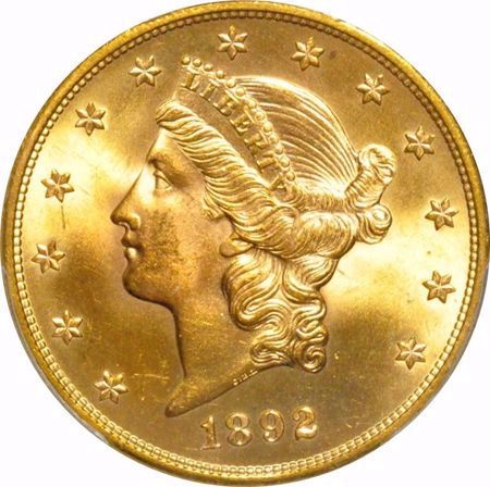 Picture for category Liberty Head $20 (1849-1907)