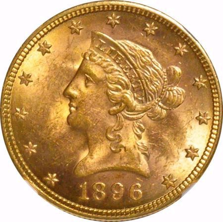 Picture for category Liberty Head $10 (1838-1907)