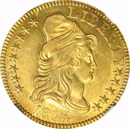 Picture for category Draped Bust $5 (1795-1807)