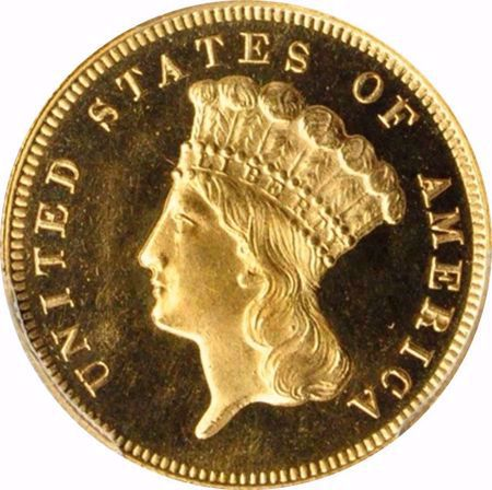 Picture for category Three Dollar (1854-1889)