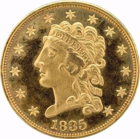 Picture for category Classic Head $2.5 (1834-1839)