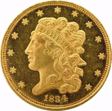 Picture for category Classic Head $5 (1834-1838)