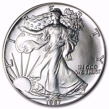 Picture for category Silver Eagles (1986 to Date)