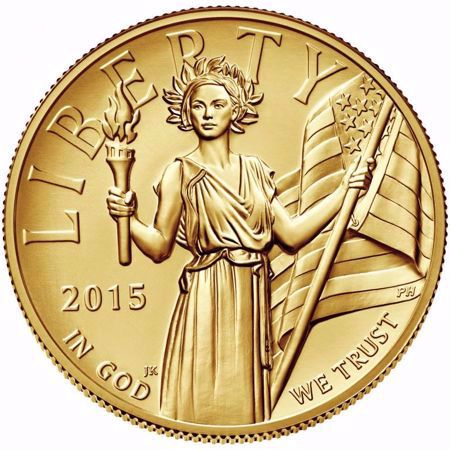 Picture for category High Relief $100 Gold (2015)
