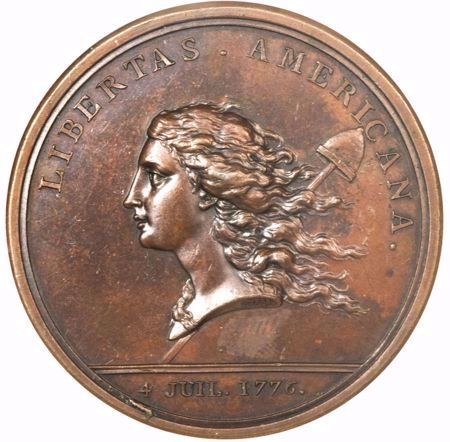 Picture for category Libertas Americana Medals (1781)