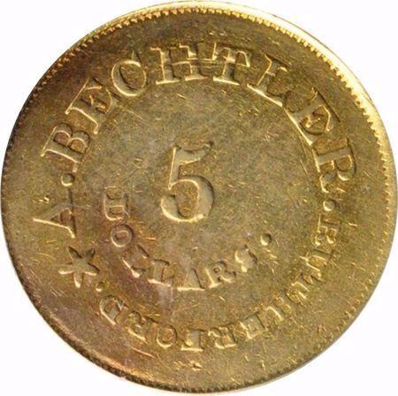 Picture for category Bechtler (N. Carolina/Georgia) (1831-1850)