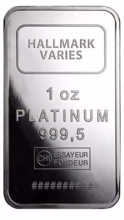 Picture for category 1 oz Platinum Bars