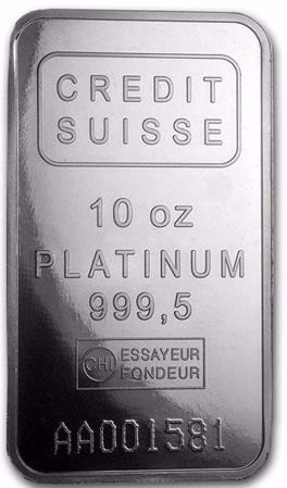Picture for category 10 oz Platinum Bars