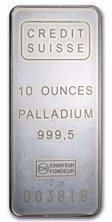 Picture for category 10 oz Palladium Bars