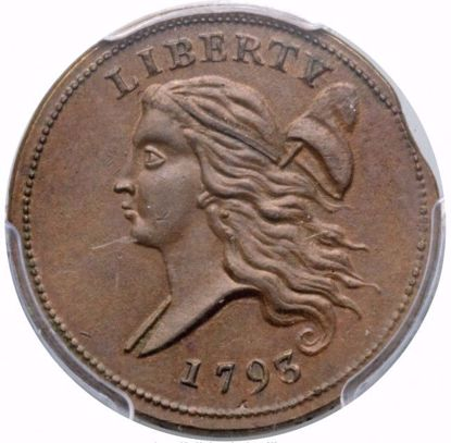 Picture of 1793 Half Cent MS64 BN PCGS