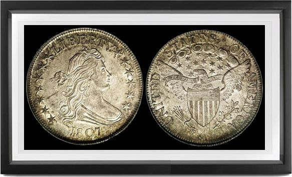 Draped Bust Heraldic Eagle Half Dollars