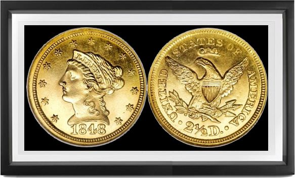 Liberty Coronet Quarter Eagles