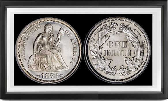 Liberty Seated Arrows Dimes