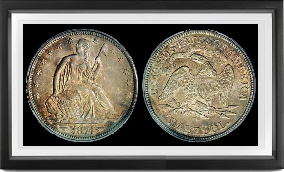 Liberty Seated Arrows Half Dollars