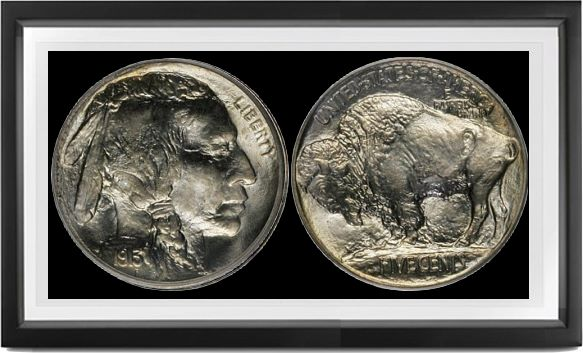 Buffalo Type 1 Nickels