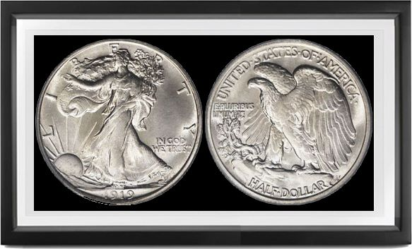 Liberty Walking Half Dollars